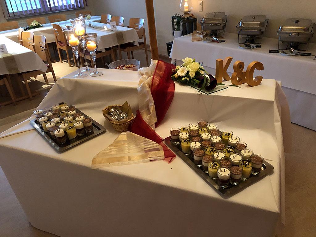 Partyservice & Catering für die Hochzeit