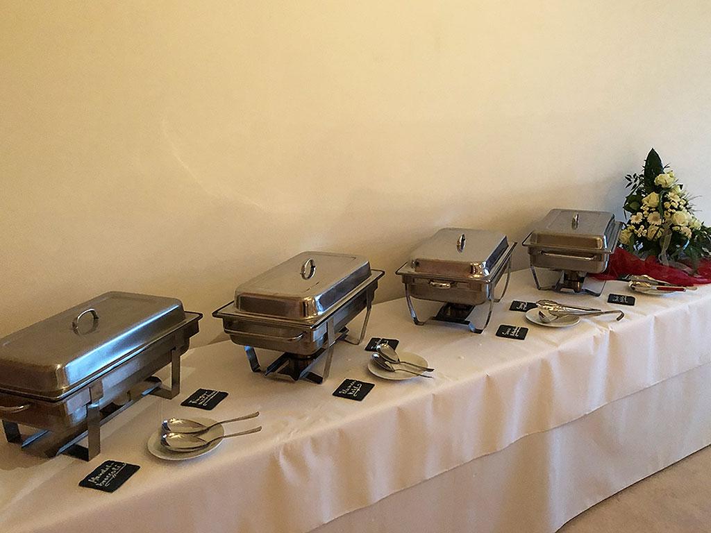 Partyservice & Catering für die Familienfeier - Tisch
